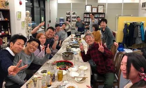仙台操体医学院の講習会の反省会