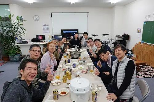 仙台操体医学院の講習会の懇親会